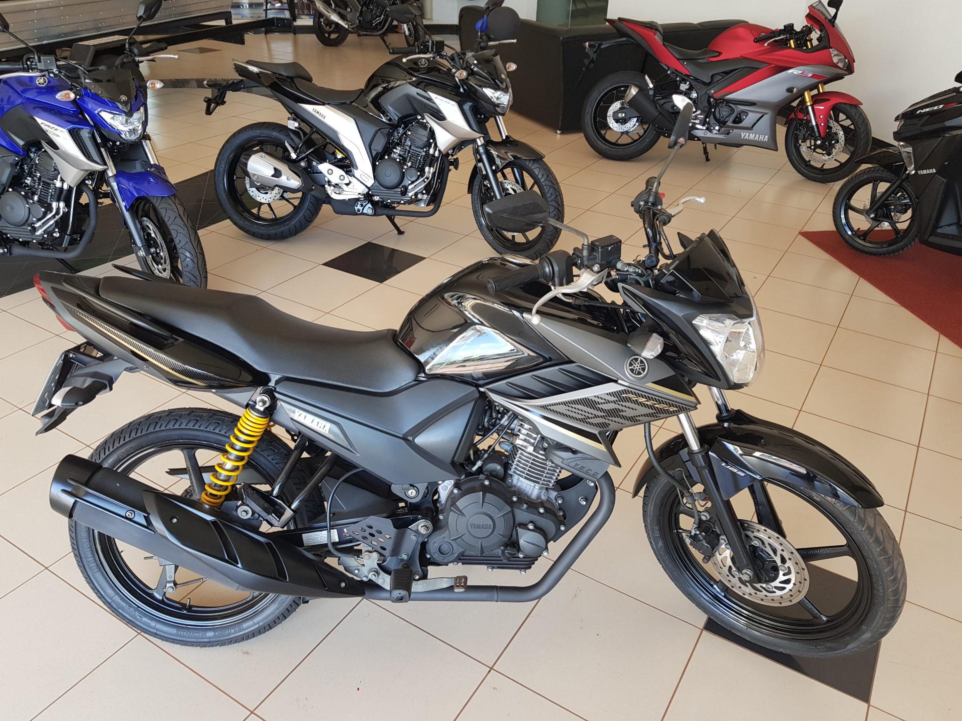 Motocicleta Yamaha FAZER 150 Modelo 2018